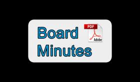 Board Minutes – October 17, 2016