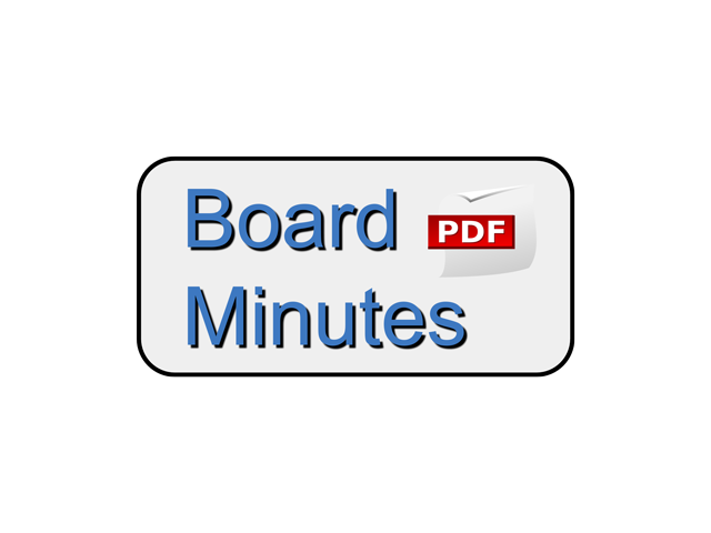 Board Minutes – March 16, 2020