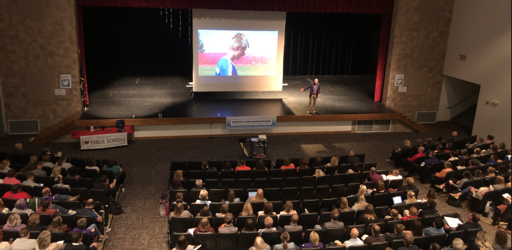 ESU 11 Hosts Fall Conference for Area Educators